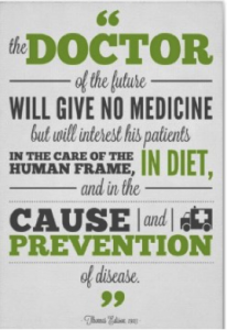 doctor of the future will give no medicine prevention of disease london ontario